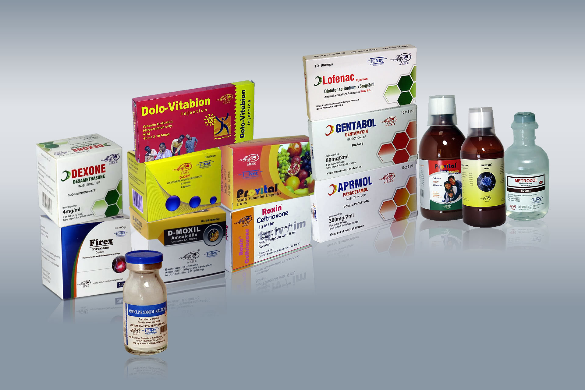AHMC pharmaceutical products