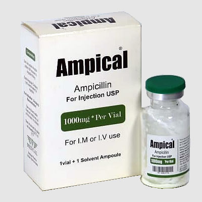 Ampical - Ampocillin 1000mg for Injection USP