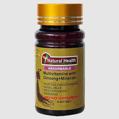 Multivitamins with Ginseng + Minerals