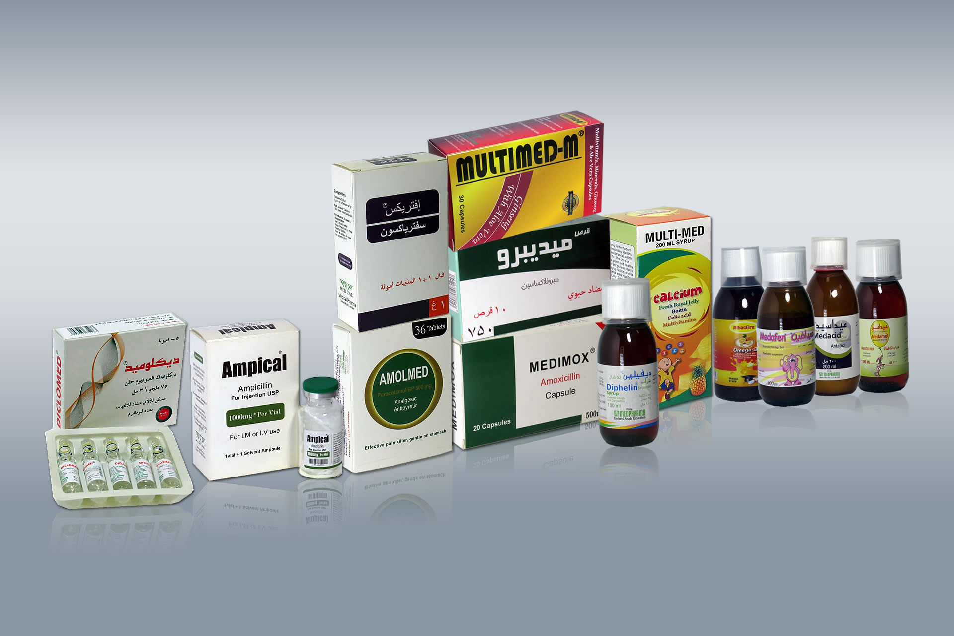 medical pharma products